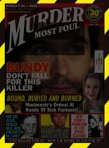 Murder Most Foul – Issue 120 – April 2021