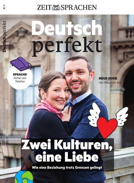 Deutsch perfekt – Mai 2021