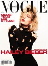 Vogue Paris – mai 2021