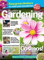 Amateur Gardening – 08 May 2021
