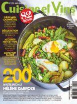 Cuisine et Vins de France – mai 2021