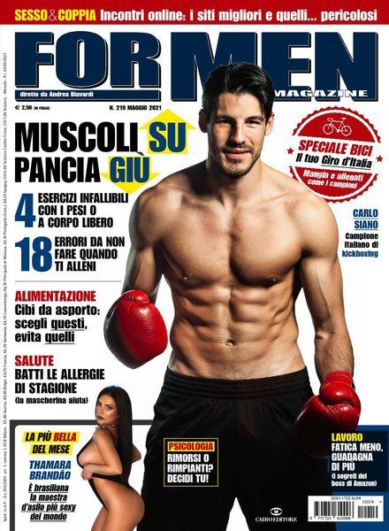 For Men Magazine – Maggio 2021