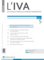 L'IVA – Maggio 2021