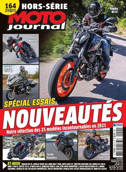 Moto Journal – Hors-Serie – Essais Nouveautes 2021