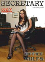 Sexy Secretary Nylon MILFs Adult Photo Magazine – February 2021