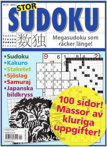 Sudoku Frossa – 05 december 2019