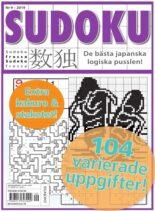 Sudoku Frossa – 24 oktober 2019