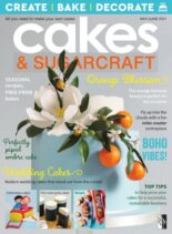 Cakes & Sugarcraft – May-June 2021