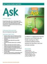 Ask Teacher's Guide – April 2021