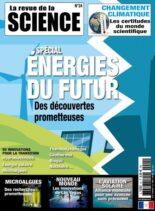 La Revue de la Science – Juin-Aout 2021