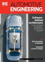 Automotive Engineering – May 2021