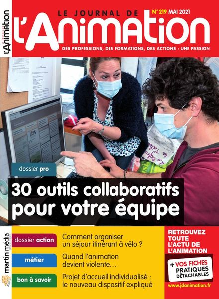 Le Journal de l'Animation – Mai 2021