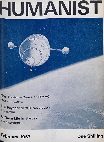 New Humanist – The Humanist, February 1967