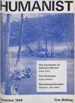 New Humanist – The Humanist, December 1966