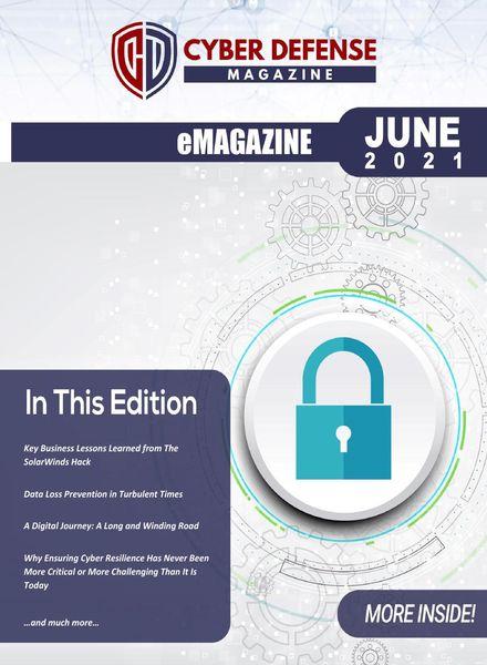 Cyber Defense Magazine – June 2021