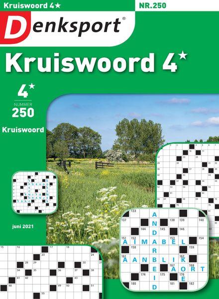 Denksport Kruiswoord 4 – juni 2021