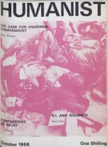 New Humanist – The Humanist, October 1966