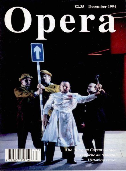 Opera – December 1994