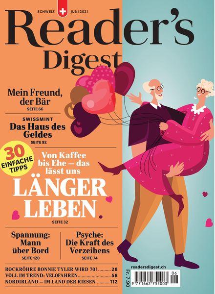 Reader's Digest Schweiz – 31 Mai 2021