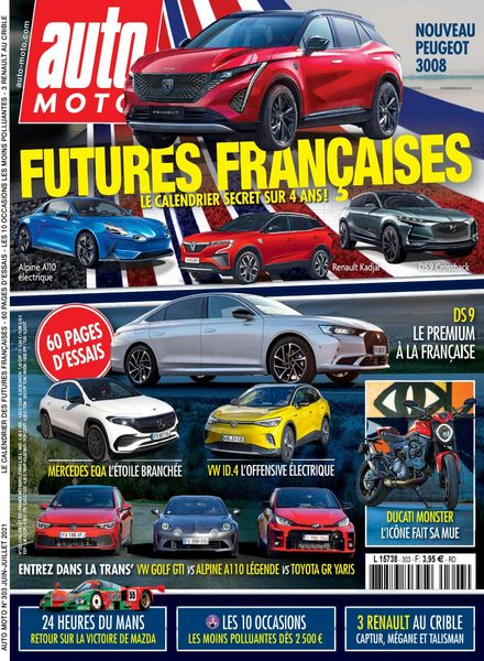 Auto Moto France – Juin-Juillet 2021