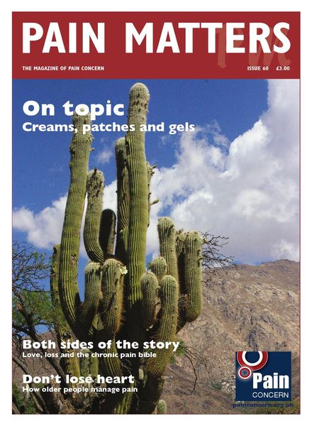 Pain Matters – Issue 60 – 17 November 2014