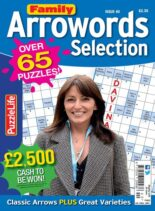 Family Arrowords Selection – 01 May 2021