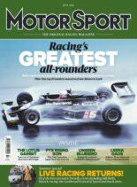 Motor Sport Magazine – July 2021