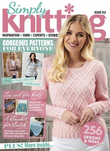 Simply Knitting – July 2021