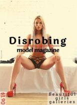 Disrobing model magazine – May-June 2020