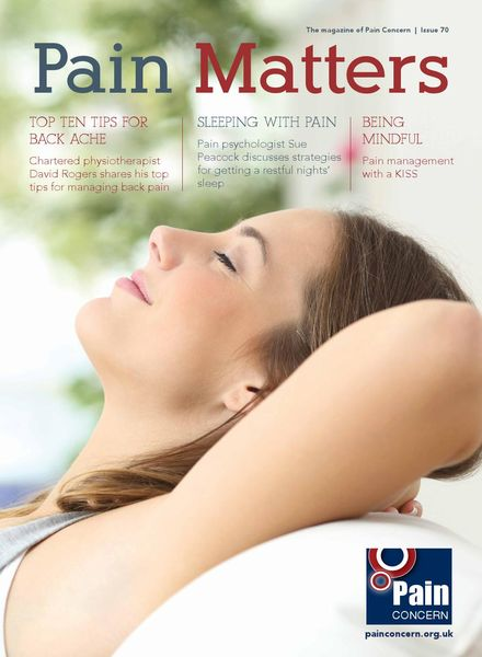 Pain Matters – Issue 70 – 21 August 2017