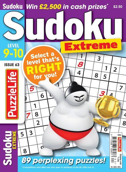 PuzzleLife Sudoku Extreme – June 2021