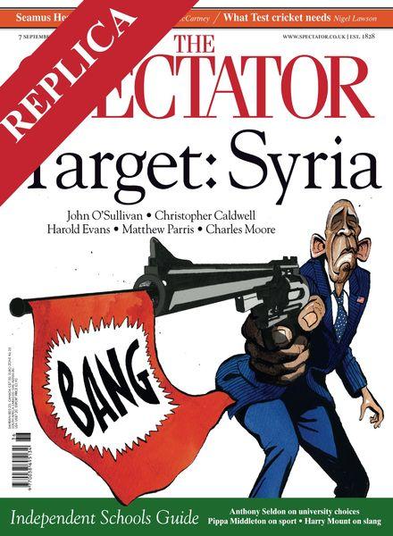 The Spectator – 7 September 2013