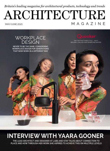Architecture Magazine – May-June 2021