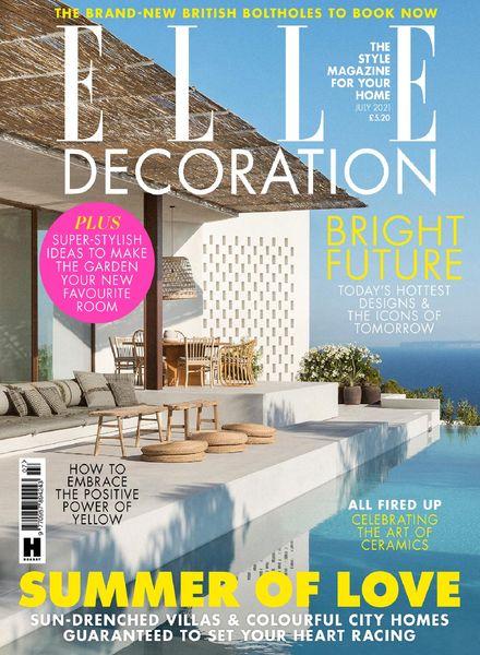 Elle Decoration UK – July 2021