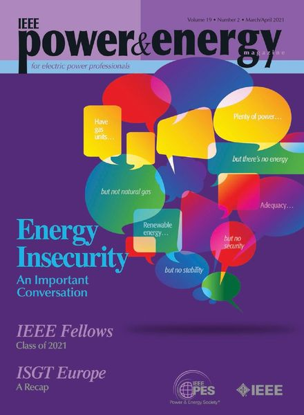 IEEE Power & Energy Magazine – March-April 2021