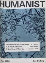 New Humanist – The Humanist, May 1966