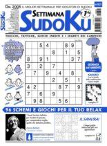Settimana Sudoku – 03 giugno 2021