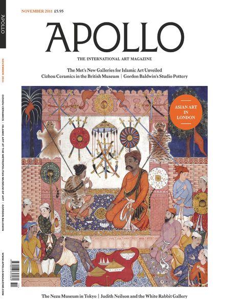 Apollo Magazine – November 2011