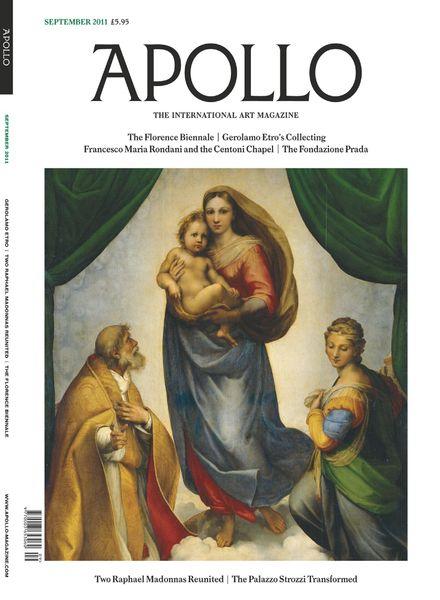 Apollo Magazine – September 2011