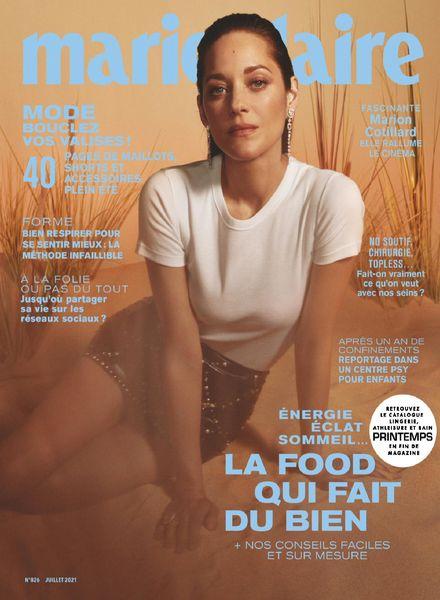 Marie Claire France – juillet 2021