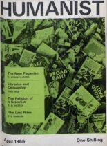 New Humanist – The Humanist, April 1966