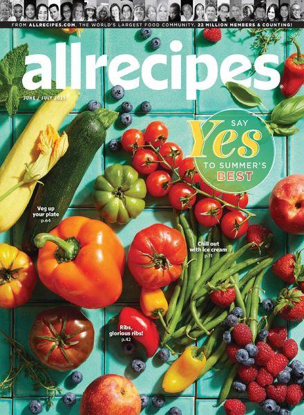 Allrecipes – June-July 2021