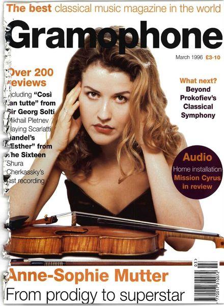 Gramophone – March 1996