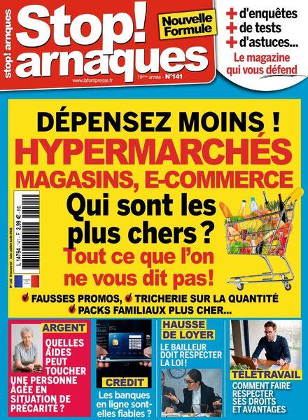 Stop Arnaques – Juin-Aout 2021