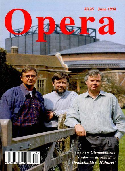Opera – June 1994