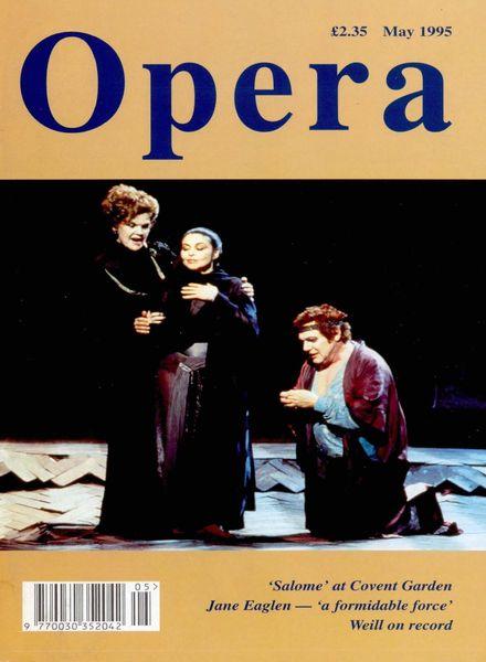 Opera – May 1995