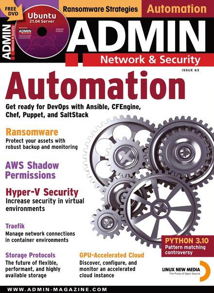 ADMIN Network & Security – June 2021