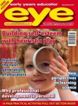 Early Years Educator – March 2015