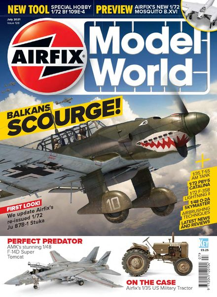 Airfix Model World – Issue 128 – July 2021