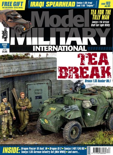 Model Military International – Issue 183 – July 2021